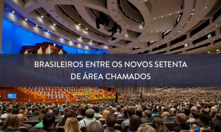 Brasileiros entre os novos Setenta de Área chamados