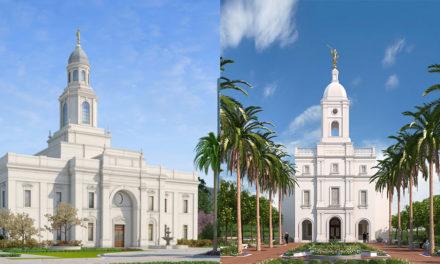 Anunciadas as datas de dedicação dos templos no Chile e na Colômbia