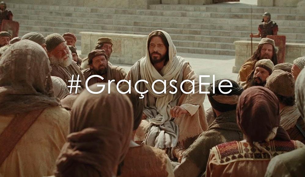 Semana de Páscoa – Participar da Iniciativa #GraçasaEle