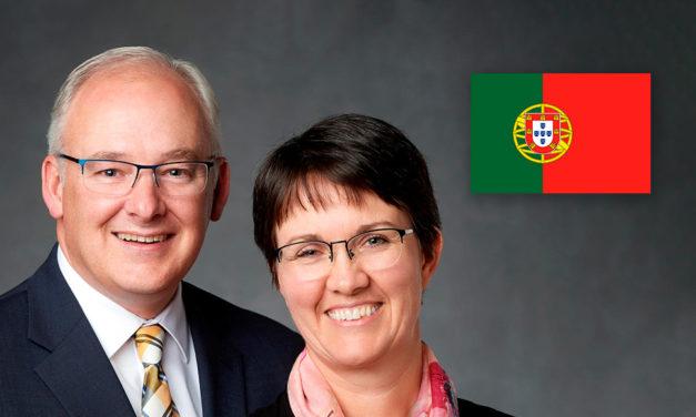 Chamado novo presidente de missão para servir em Portugal