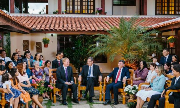 Reunião Familiar com a Presidência de Área e Desafio do Livro de Mórmon