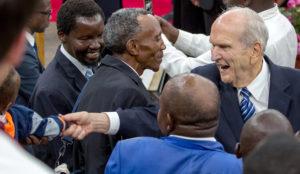 Profeta, Presidente Nelson chega ao Quênia