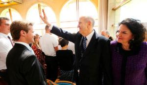 Presidente deixa Jerusalém