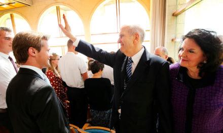 Presidente Nelson deixa Jerusalém por causa da crescente tensão no Oriente Médio
