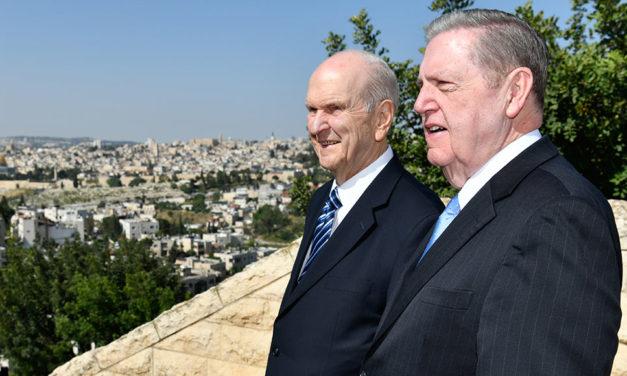 Vídeo: Presidente Nelson visita Jerusalém em sua viagem mundial de ministério