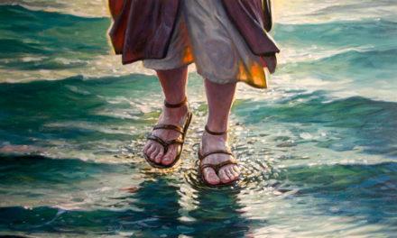 Lição aprendida com Pedro quando ele andou sobre as águas