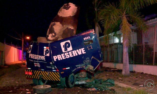 Explosão de carro-forte danifica capela mórmon em Petrolina – PE