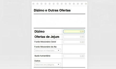 Igreja retira duas opções de doação online na papeleta