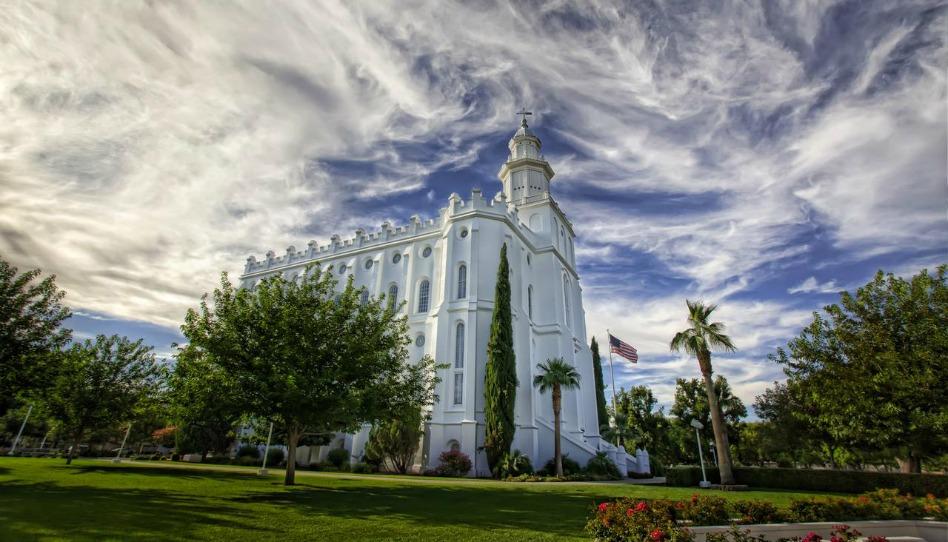 Templo de St. George Utah fica fechado por motivo de vandalismo