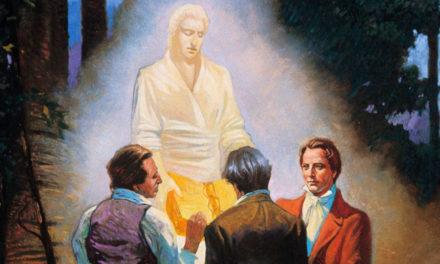 Visita angelical que Joseph Smith recebeu depois de fazer muitas orações