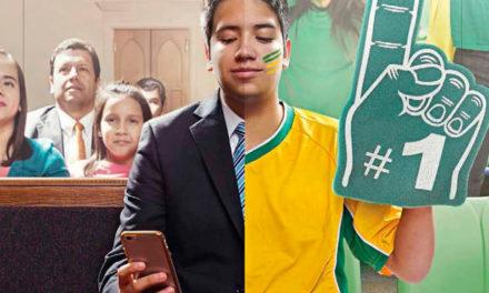 Posso assistir o jogo de futebol do Brasil no Dia do Senhor?