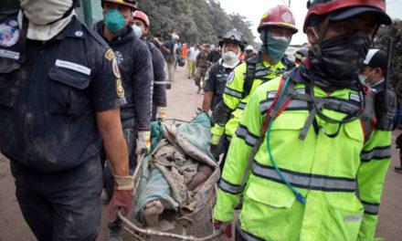 Missionários seguros após erupção vulcânica na Guatemala, dois santos dos últimos dias desaparecidos