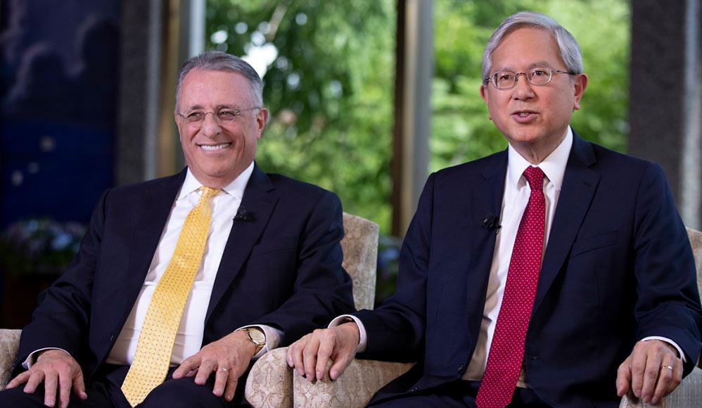 Élder Gong e Élder Soares, novos apóstolos