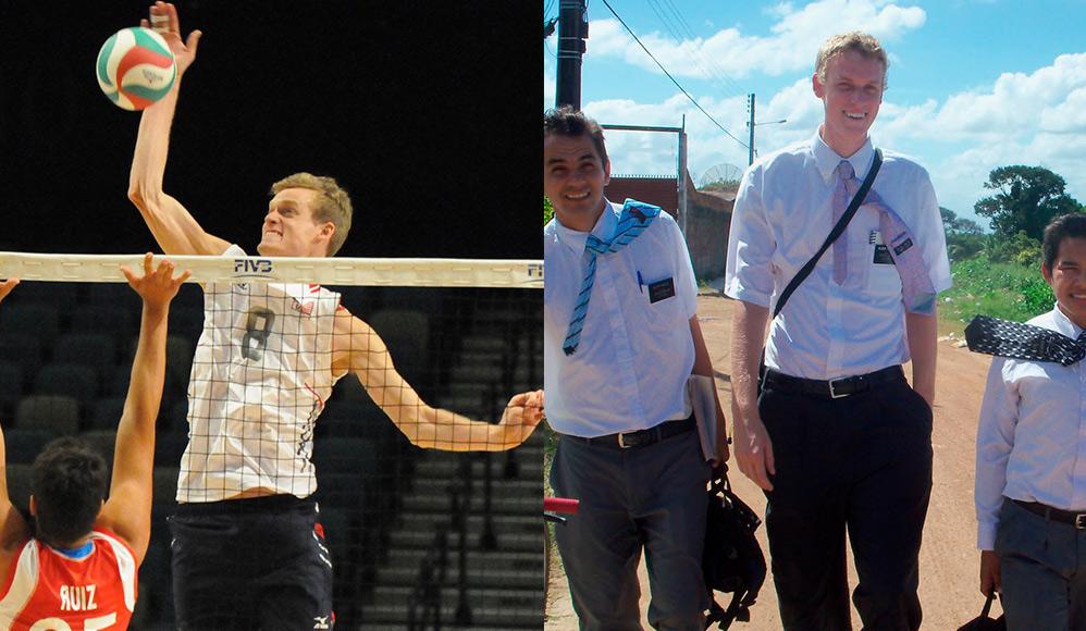 Jogador da seleção de vôlei dos EUA é mórmon e serviu missão no Brasil