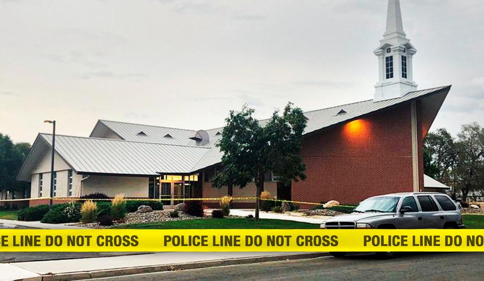 Tiroteio em capela mórmon deixa 1 morto e 1 ferido