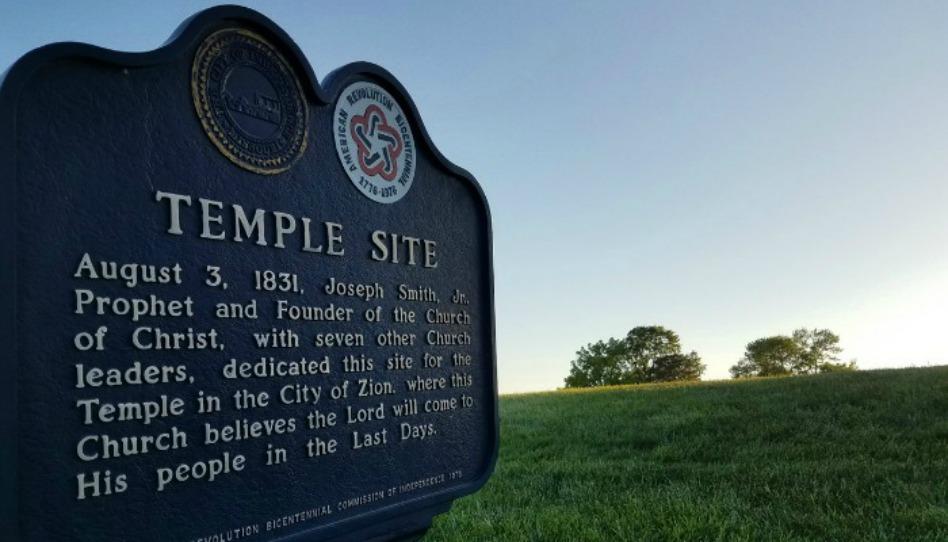A Igreja de Cristo e o templo do milênio no Missouri