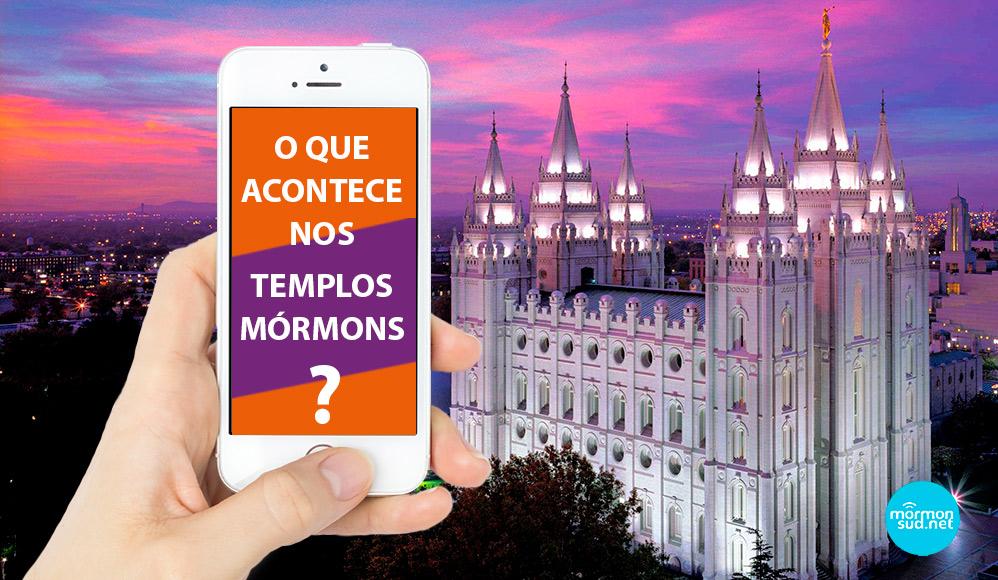 Mórmons no WhatsApp: O que acontece nos templos mórmons?