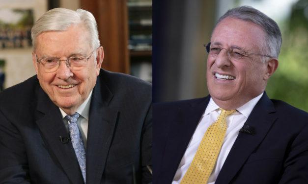 [Hoje] Reunião Familiar com o Pres. Ballard, Élder Soares e a Presidência da Área Brasil