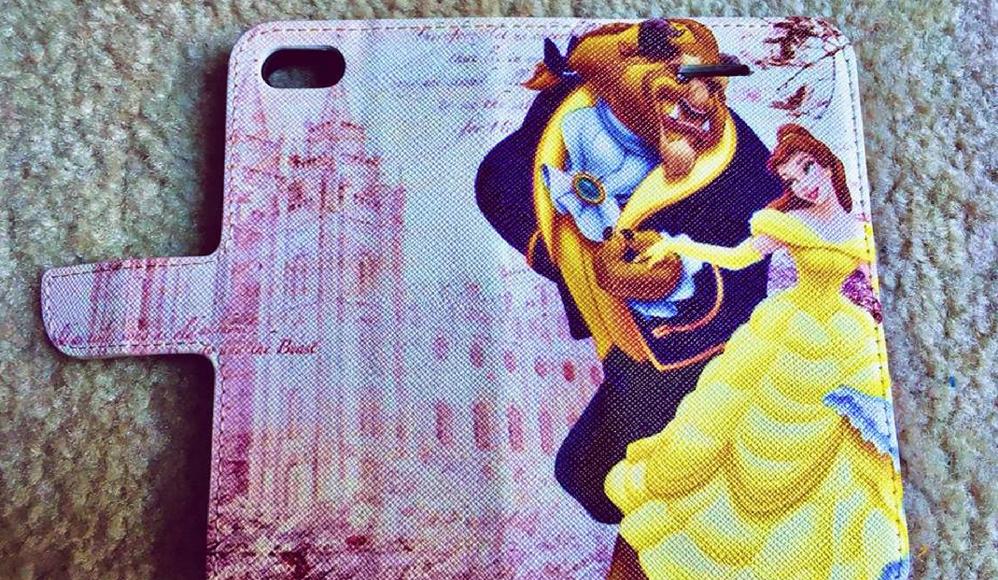Uma empresa colocou acidentalmente o Templo de Salt Lake em uma capa de celular da Bela e a Fera
