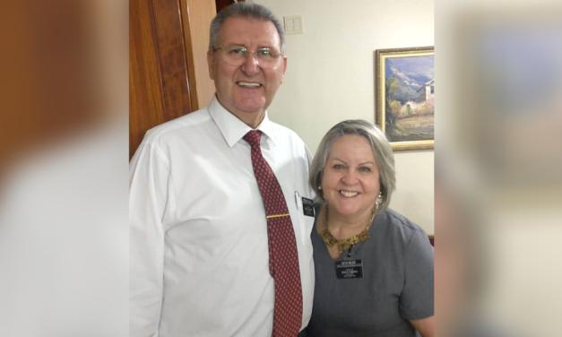 César Milder e sua esposa entre novos presidentes de CTM chamados