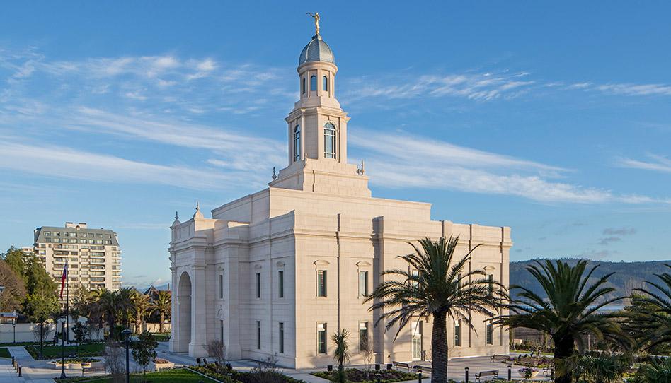 Novo templo de Concepción, Chile, abre para visitação