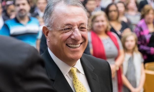 Élder Soares compartilhou seu sentimentos sobre a recente visita ao Brasil