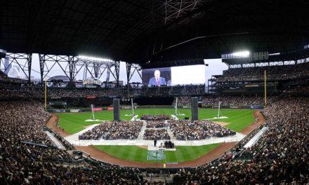 Presidente Nelson falou à quase 50 mil pessoas em um estádio nos EUA