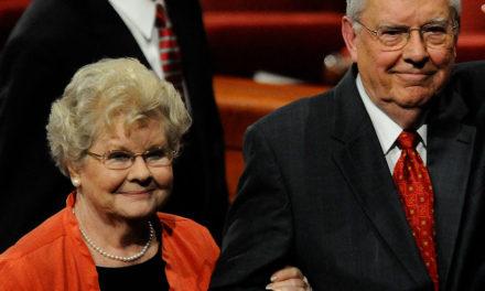Falece Sister Barbara Ballard, esposa do Presidente Ballard
