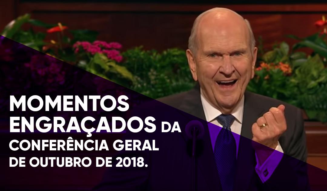 [Vídeo] Momentos engraçados da Conferência Geral de outubro de 2018.