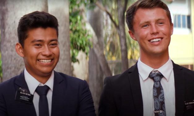 [Vídeo] Estes missionários viajaram 48 horas para ver Pres. Nelson no Paraguai