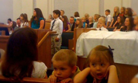 13 crianças que vemos em toda sacramental especial da Primária