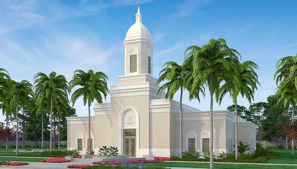 Anunciado um novo templo em Praia, Cabo Verde!