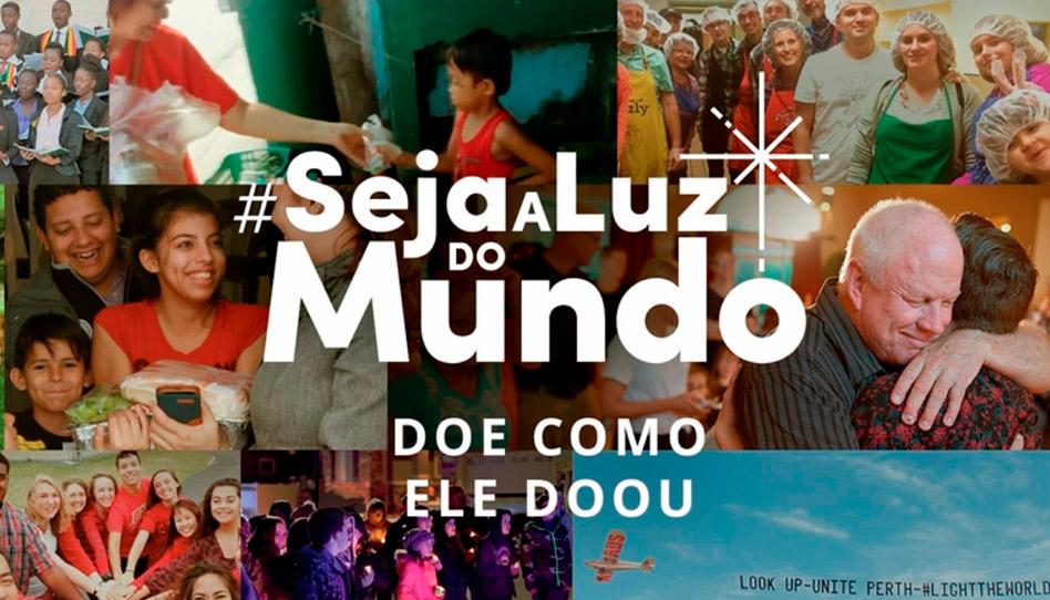 A campanha #SejaALuzDoMundo será diferente esse ano. Confira!
