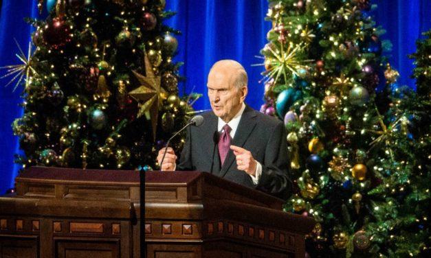 Devocional de Natal da Primeira Presidência – Pres. Nelson fala sobre os quatro presentes do Salvador