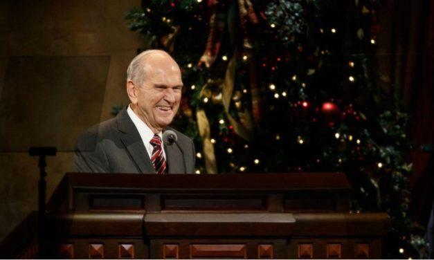 História de Natal curta contada pelo Presidente Nelson