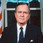 Retrato de George H. W. Bush
