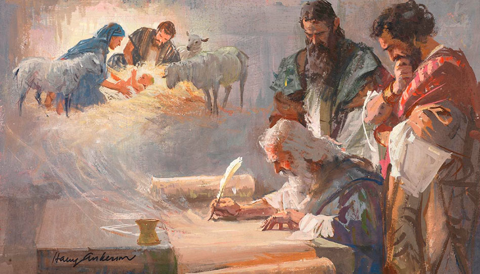 Isaías vê o nascimento de Cristo