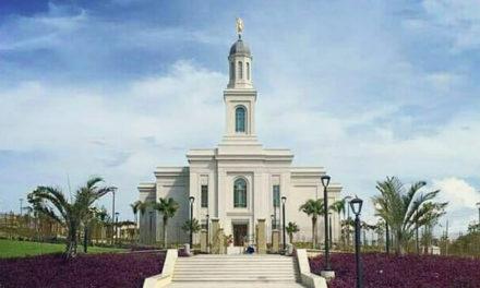 A data da dedicação do Templo de Fortaleza foi anunciada