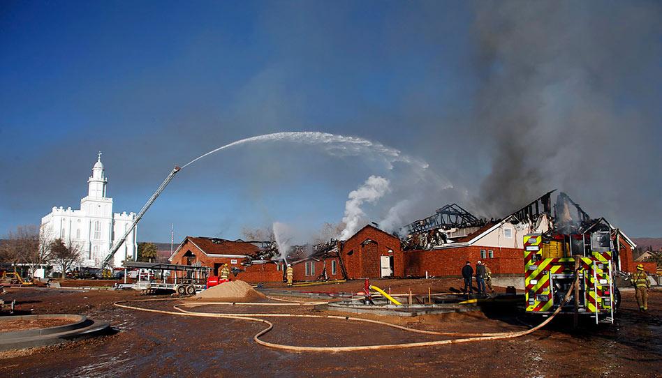 Investigadores dizem que incêndio em capela nos EUA foi intencional