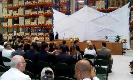 Centro de Distribuição da Igreja é inaugurado em São Paulo, SP