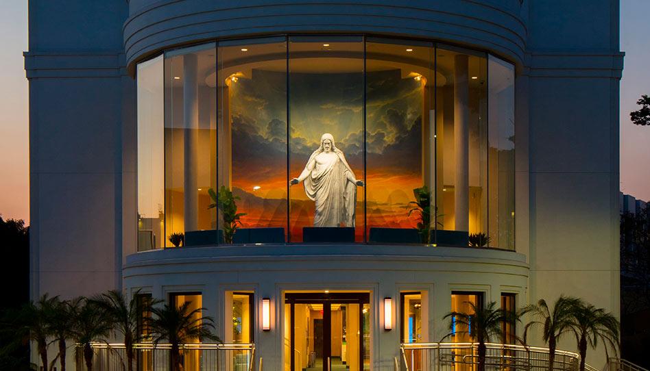 Inauguração do Centro de Visitantes do Templo de São Paulo