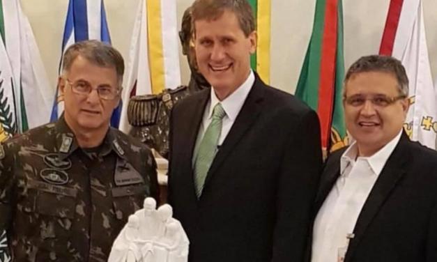 Novo Comandante do Exército Brasileiro é membro da Igreja
