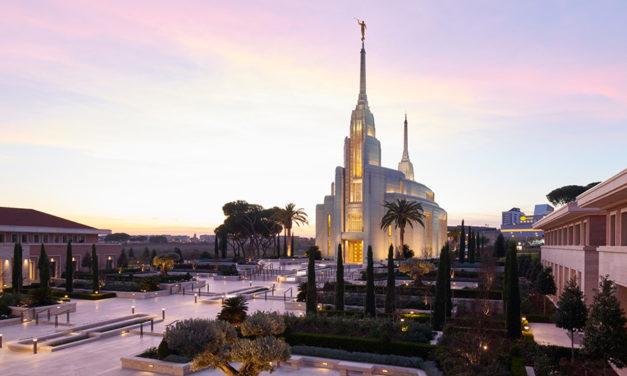 Como o templo de Roma respeita o meio ambiente e melhora a comunidade