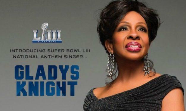 Gladys Knight cantará o Hino Nacional no Super Bowl 2019