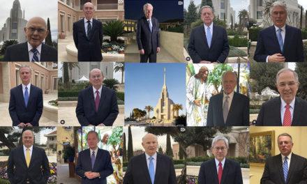 Declarações da Primeira Presidência e do Quórum dos Doze no Instagram sobre o Templo de Roma