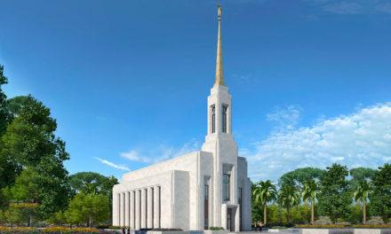 A data da dedicação do Templo de Lisboa, Portugal, foi anunciada