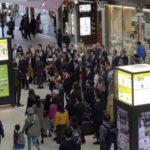 missionários fazem flash mob no Japão