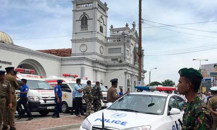 Declaração da Presidência da Área Ásia sobre os ataques com bombas a igreja e hotéis no Sri Lanka
