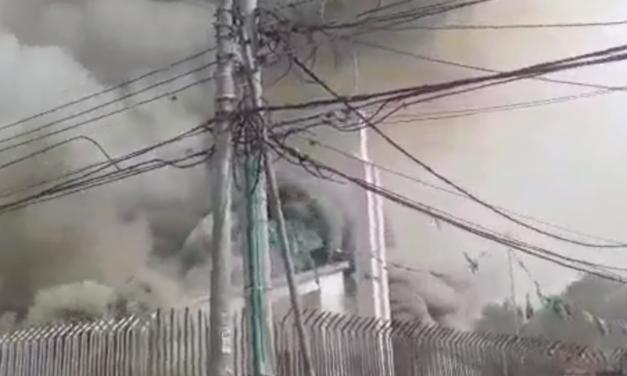 Incêndio atinge capela da Igreja de Jesus Cristo na Colômbia
