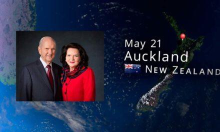 Presidente e irmã Nelson se preparam para uma viagem de ministério no Pacífico
